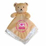 Security Bear - Pink Logo - Green Bay Packers