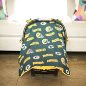 Carseat Canopy - Green Bay Packers