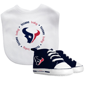 Bib & Prewalker Gift Set - Houston Texans