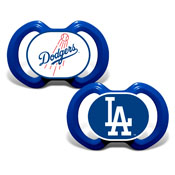Gen. 3000 Pacifier 2-Pack - Los Angeles Dodgers