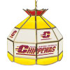 Central Michigan U Stained Glass Billiard Lamp - 16 Inch