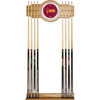 Arizona State University Wood and Mirror Wall Cue Rack
