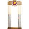 Central Michigan University Wood and Mirror Wall Cue Rack