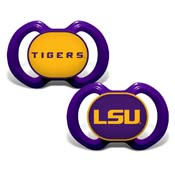 Gen. 3000 Pacifier 2-Pack - Louisiana State University