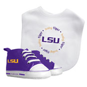 Bib & Prewalker Gift Set - Louisiana State University