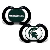 Gen. 3000 Pacifier 2-Pack - Michigan State University