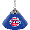 Detroit Pistons NBA Single Shade Bar Lamp - 14 inch