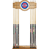 Detroit Pistons NBA Billiard Cue Rack with Mirror