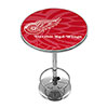 NHL Chrome Pub Table - Watermark - Detroit Redwings