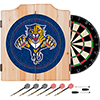 NHL Dart Cabinet Set with Darts and Board - Florida Panthers