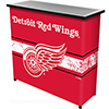NHL Portable Bar with Case - Detroit Redwings