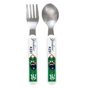 Fork & Spoon Set - New York Yankees