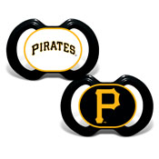 Gen. 3000 Pacifier 2-Pack - Pittsburgh Pirates