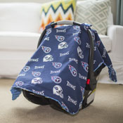 Carseat Canopy - Tennessee Titans