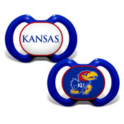 Gen. 3000 Pacifier 2-Pack - Kansas, University Of