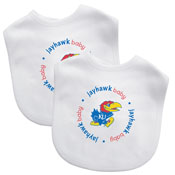 Bibs (2 Pack) - Kansas, University Of
