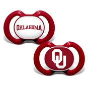 Gen. 3000 Pacifier 2-Pack - Oklahoma, University of