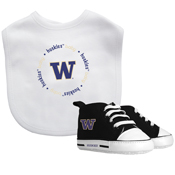 Bib & Prewalker Gift Set - Washington, University Of