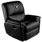 University of Georgia Bulldogs Rocker Recliner