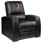 Virginia Tech Hokies Collegiate Relax Recliner with Stand logo