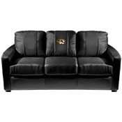 Missouri Tigers Collegiate Silver Sofa