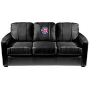 Chicago Cubs MLB Silver Sofa