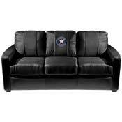 Houston Astros MLB Silver Sofa