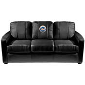 New York Mets MLB Silver Sofa