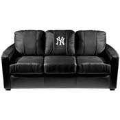 New York Yankees MLB Silver Sofa