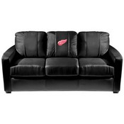Detroit Red Wings NHL Silver Sofa