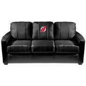 New Jersey Devils NHL Silver Sofa