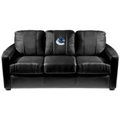 Vancouver Canucks NHL Silver Sofa