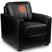 Clemson Tigers Collegiate Silver Chair