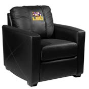 LSU Tigers Collegiate Silver Chair