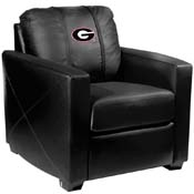 University of Georgia Bulldogs Silver Chair