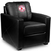 Boston Red Sox MLB Silver Chair