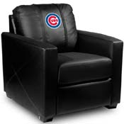 Chicago Cubs MLB Silver Chair