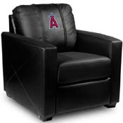 Los Angeles Angels of Anaheim MLB Silver Chair
