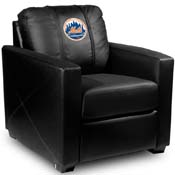 New York Mets MLB Silver Chair