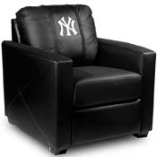 New York Yankees MLB Silver Chair