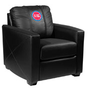 Detroit Pistons NBA Silver Chair