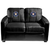 Houston Astros MLB Silver Love Seat