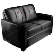 Pittsburgh Pirates MLB Silver Love Seat