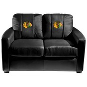 Chicago Blackhawks NHL Silver Love Seat