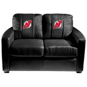New Jersey Devils NHL Silver Love Seat