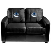 Vancouver Canucks NHL Silver Love Seat