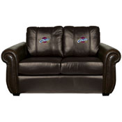 Cleveland Cavaliers NBA Chesapeake Love Seat with Global Logo Panel