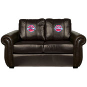 Detroit Pistons NBA Chesapeake Love Seat