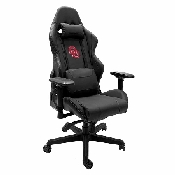 Xpression Gaming Chair with Oklahoma University Sooners with Red Logo with White Outline