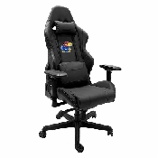 Xpression Gaming Chair with Kansas Jayhawks Logo Panel